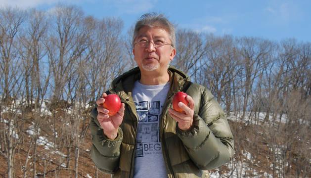 En la isla japonesa de Hokkaido los mangos crecen en la nieve