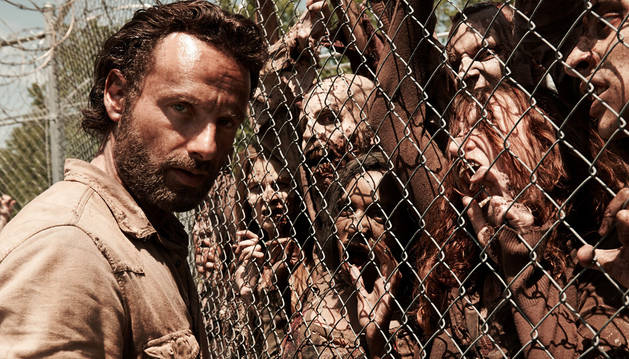 Fotograma de la serie 'The Walking Dead'.