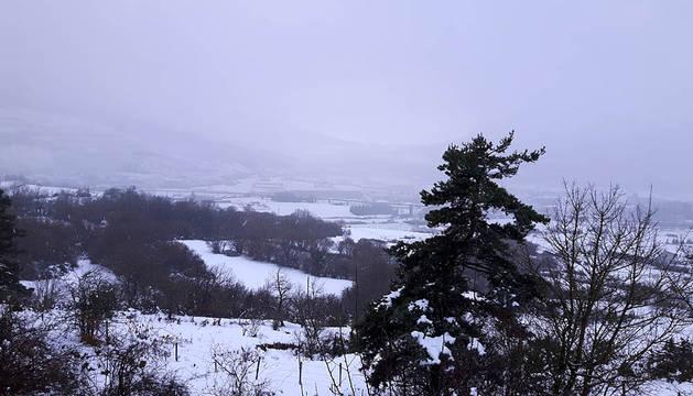 Imágenes de nieve enviadas por los lectores