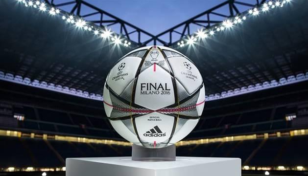 Imagen del nuevo balón de la Liga de Campeones.