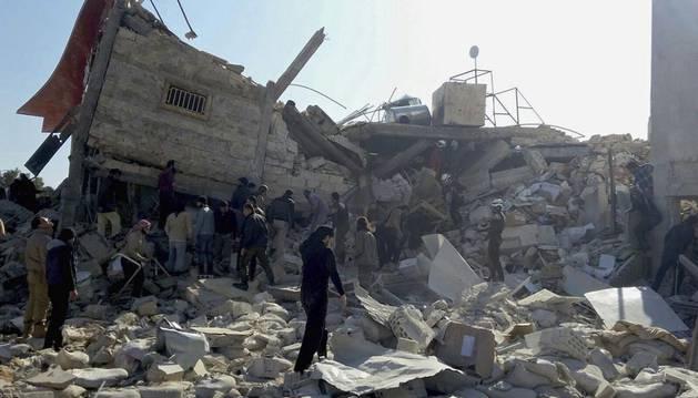 Al menos siete muertos en el ataque a un hospital de MSF en Siria