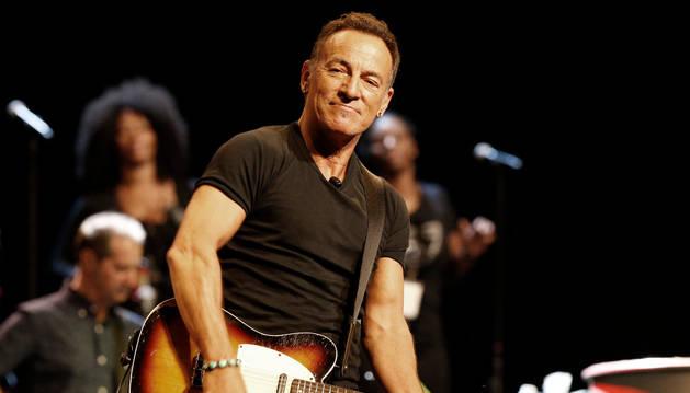 El cantante Bruce Springsteen.