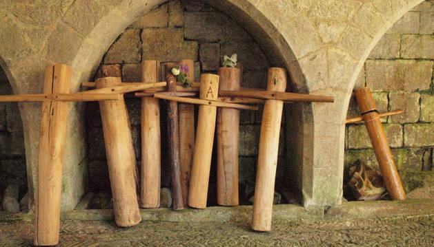 Cruces de romerías penitenciales.