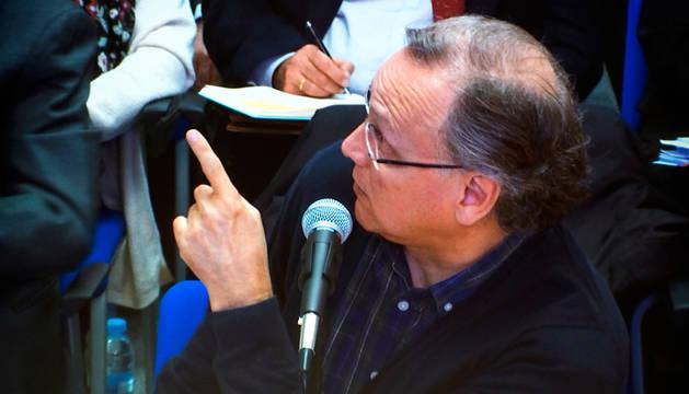 El excontable del Instituto Nóos, Marco Antonio Tejeiro, en el juicio.