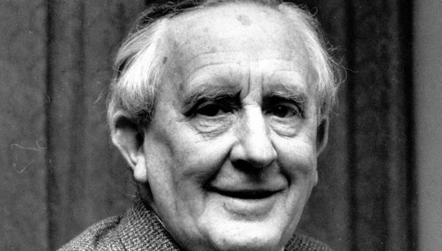 Fotografía de JRR Tolkien de 1967.