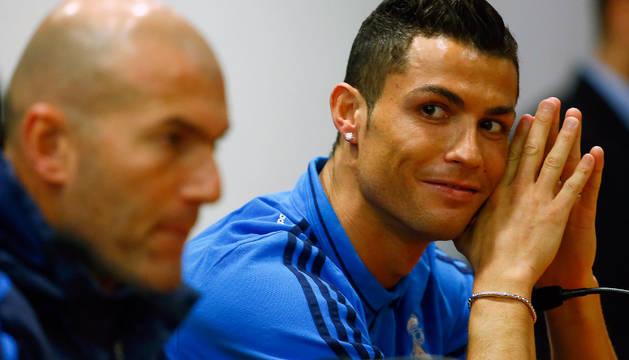 Zidane y Cristiano Ronaldo.