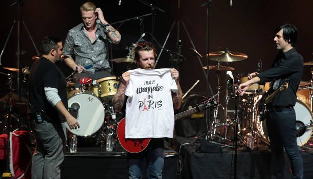Eagles of Death Metal volvió a París tras los atentados