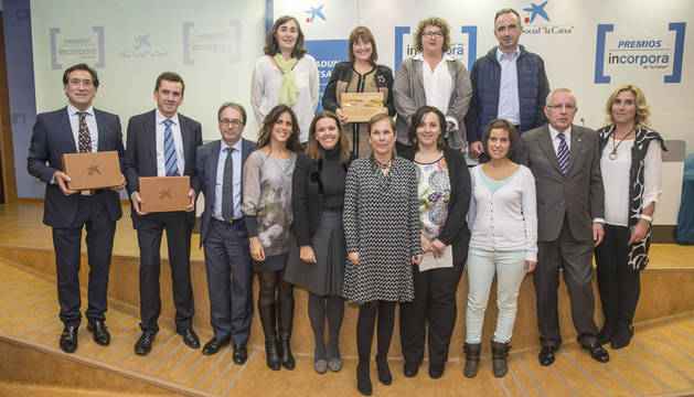 Premios Incorpora Navarra 2015.