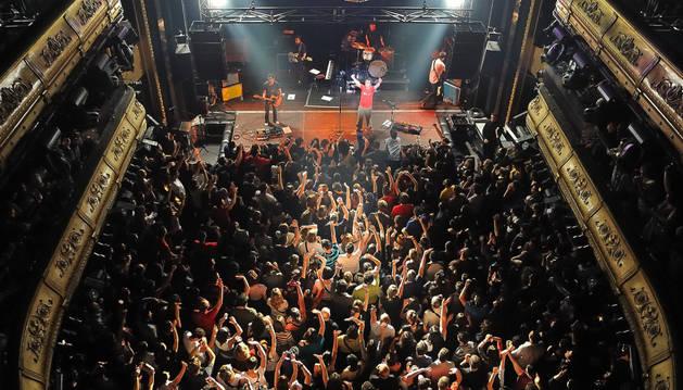 Imagen de un concierto en la sala Joy Eslava.