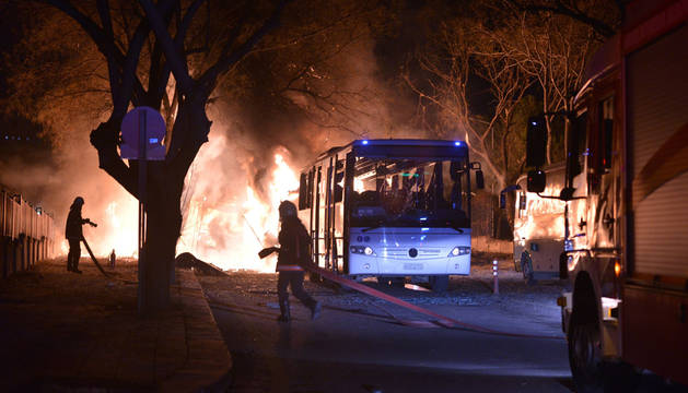 Al menos cinco muertos en Turquía por la explosión en una residencia militar