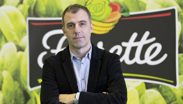 Fermín Aldaz, director comercial y de marketing de Florette Ibérica