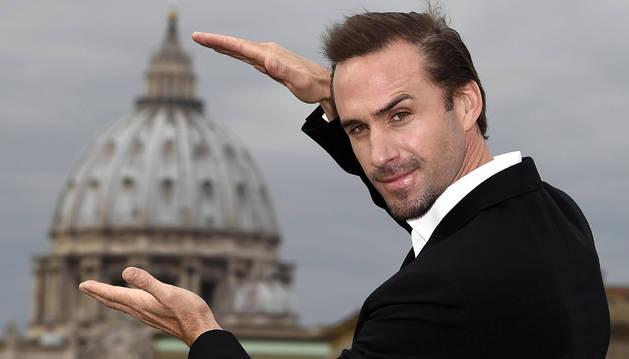 Fotografía de archivo del actor británico Joseph Fiennes.