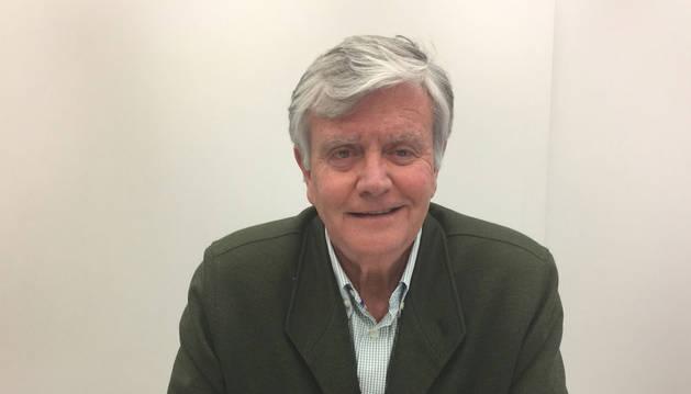 Michel Iturralde, vicedecano del Colegio de Ingenieros Industriales de Navarra