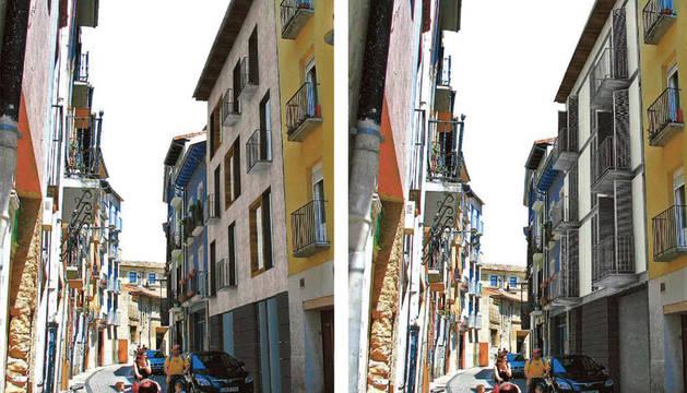 La renovación de edificios en Descalzos, Jarauta y Eslava ya tiene aquitectos