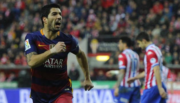 El delantero del Barcelona Luis Suárez.