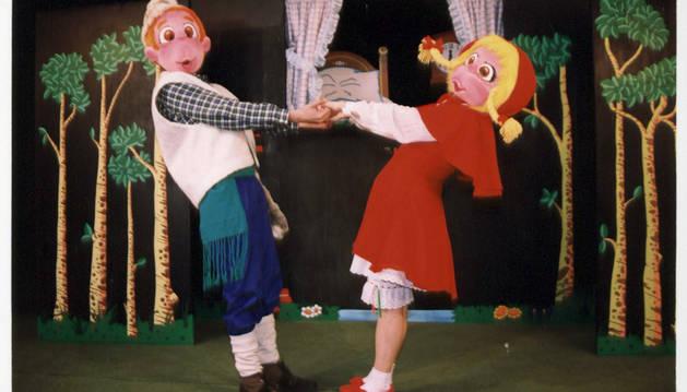Marionetas de Kollins Clown.