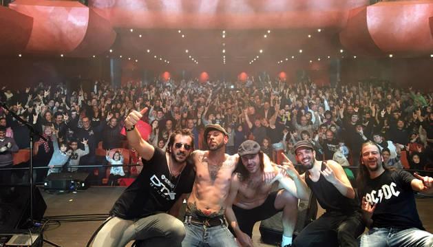 Espectáculo Rock en Familia que llenó el teatro Gaztambide de Tudela el pasado 31 de enero