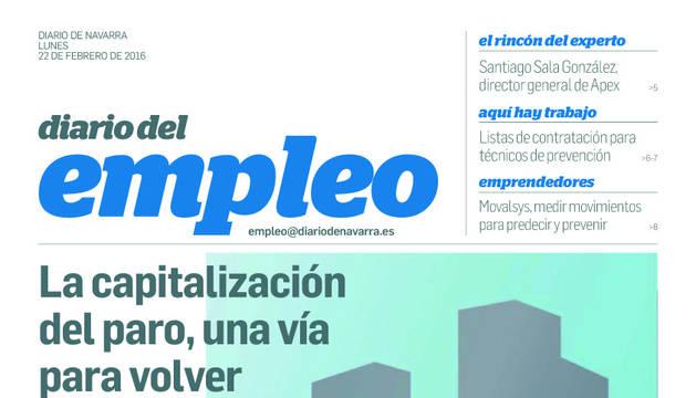 La capitalización del paro, tema central este lunes en Diario del Empleo