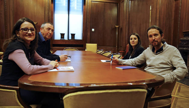 Podemos rehúsa el pacto de investidura de Sánchez y pide estar en el Gobierno