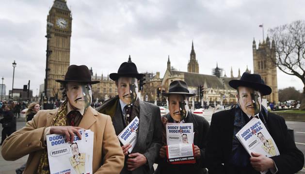 Casi mil personas piden en Londres que el Reino Unido salga de la UE