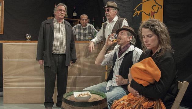 Una escena de 'La Taberna Fantástica'.