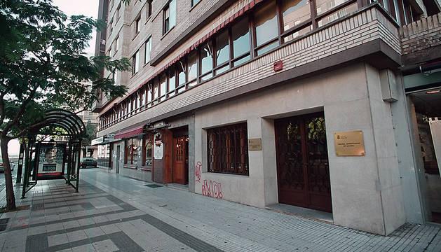 Sede del Tribunal Administrativo de Navarra.