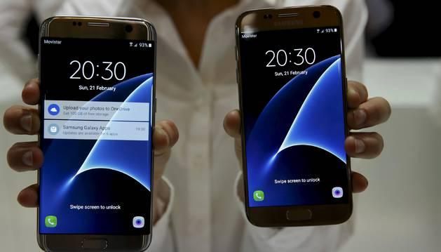 El Samsung Galaxy S7.