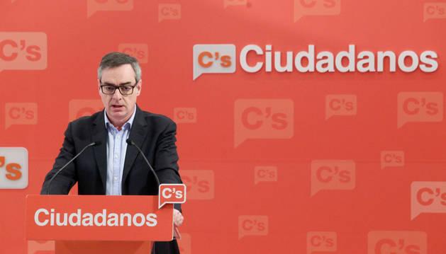 El vicesecretario general de Ciudadanos, José Manuel Villegas.