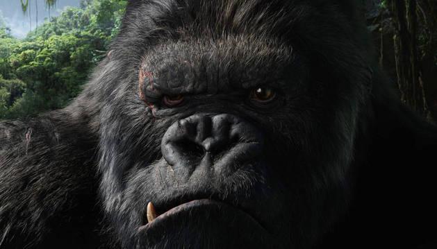 Fotograma de la película 'King Kong'.
