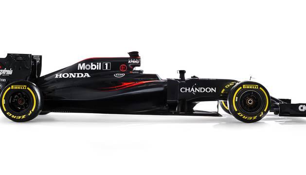 McLaren-Honda MP4-31 2016.