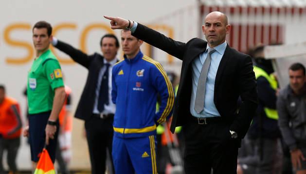 Paco Jémez, entrenador del Rayo.