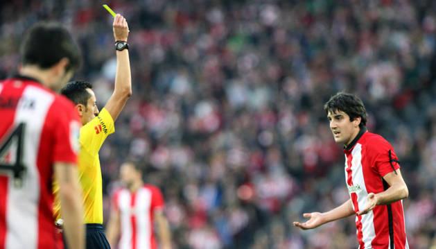 Mikel San José, contra el Athletic.