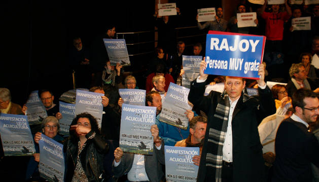 Rajoy, declarado 'persona non grata' por el Ayuntamiento de Pontevedra