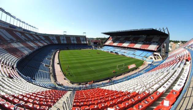 Vista del Vicente Calderón.