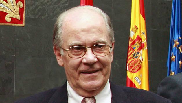 Juan Manuel Arza, en un acto institucional en abril de 2009.