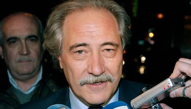 El expresidente de la Caja Castilla-La Mancha, Juan Pedro Hernández Moltó.