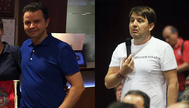 Alfonso Ramírez y Txuma Iso.