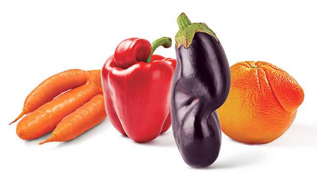 Frutas y hortalizas que ilustran la iniciativa.