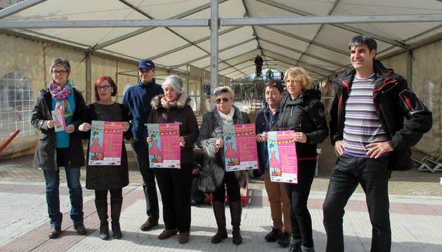 Una carpa en la plaza Consistorial albergará la Feria del Comercio