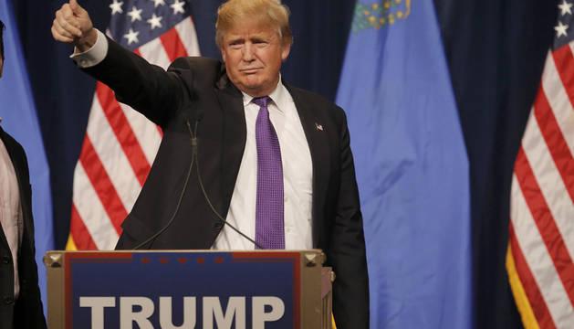 Trump suma una nueva victoria en las elecciones primarias de Nevada