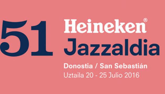 Cartel de la programación de Jazzaldia 2016.