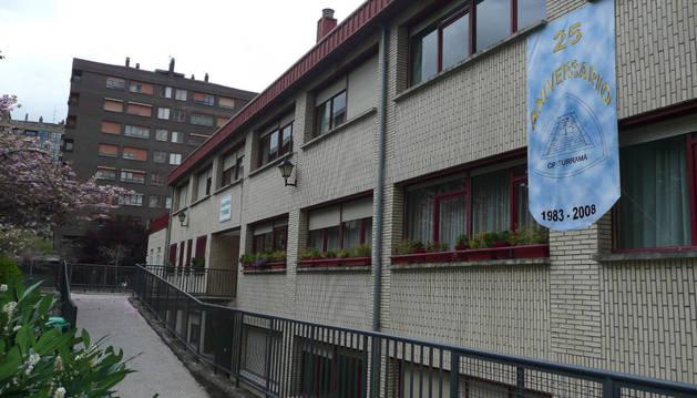 Imagen de la fachada del Colegio Público Iturrama.