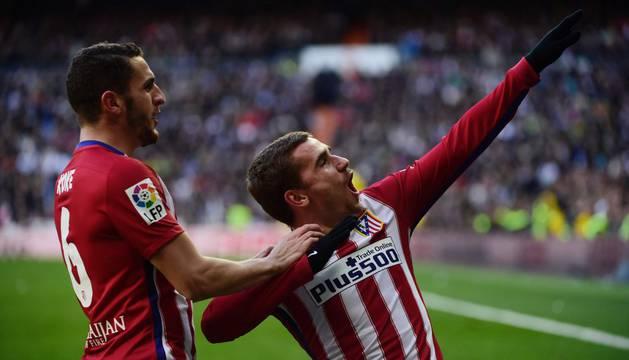 Un gol de Griezmann decidió el partido.