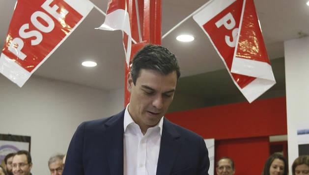Sánchez pide votar con