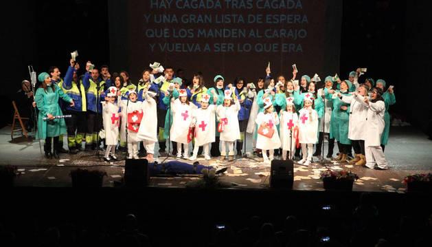 El jurado premió a esta escuela como la mejor puesta en escena del festival.