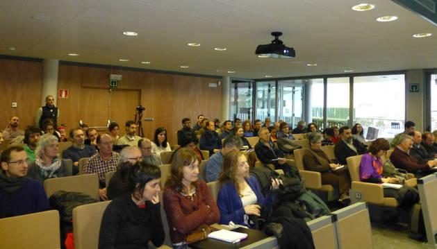 La jornada estuvo organizada por Ecologistas en Acción y el Ayuntamiento de Estella, con la colaboración de Uztaldi, ENHE y Arrea.