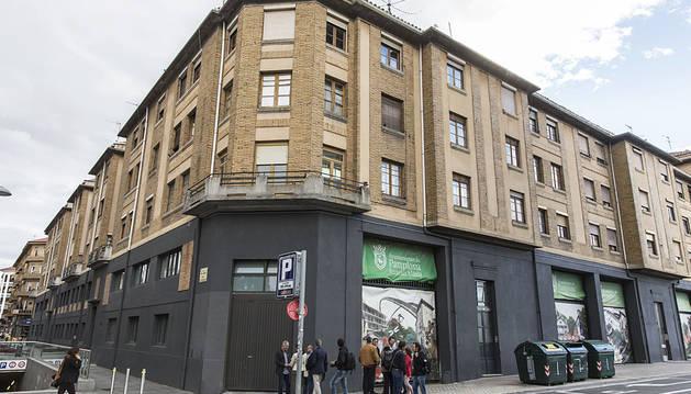 Pamplona busca fondos europeos para rehabilitar la antigua autobuses