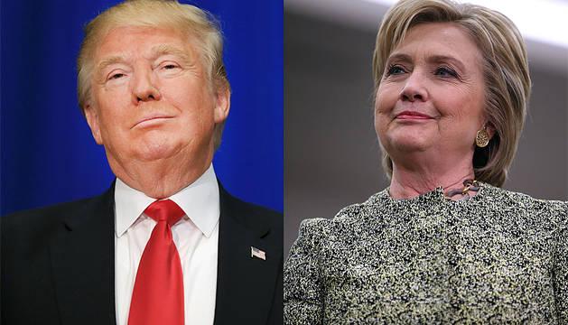 El 'supermartes' puede consolidar el camino de Trump y Clinton