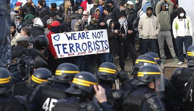 Desalojo del campamento 'la jungla' en Calais