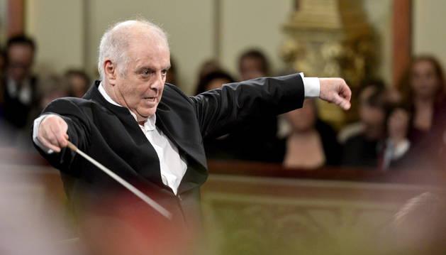 El director de orquesta argentino-israelí Daniel Barenboim.